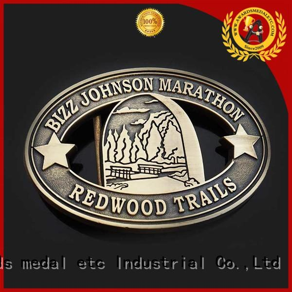 Awards Medal China metal belt buckle personalized for sale