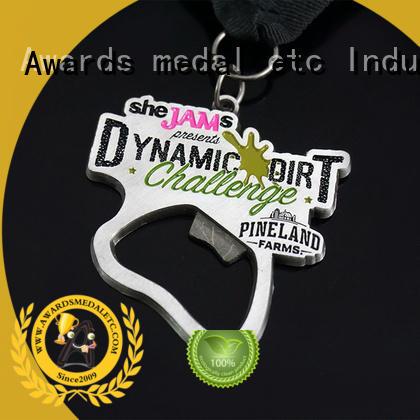 Awards Medal most popular metal bottle opener supplier for events