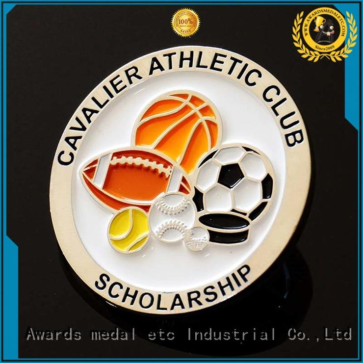 Awards Medal soft challenge coin maker high reliability for souvenir