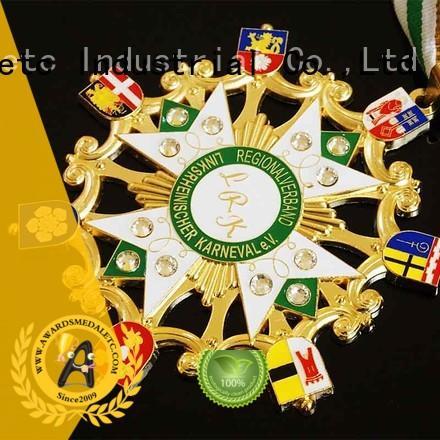 Awards Medal metal fiesta medal trader for wholesale