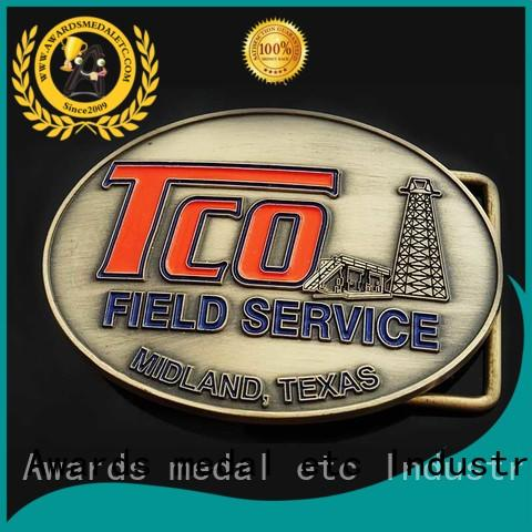 Awards Medal stainless custom belt buckles manufacturer for mass-market