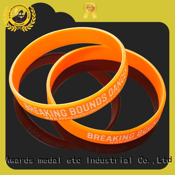 Awards Medal cost-effective custom silicone wristbands innovative product for event