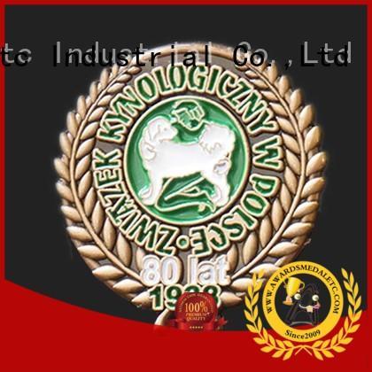 Awards Medal best enamel pin badges looking for buyer for garment