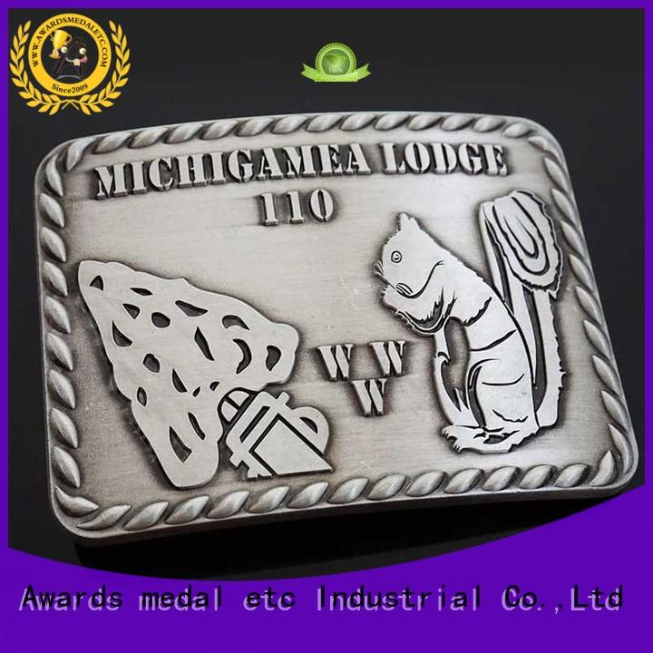 Awards Medal your belt buckle manufacturers personalized for sale