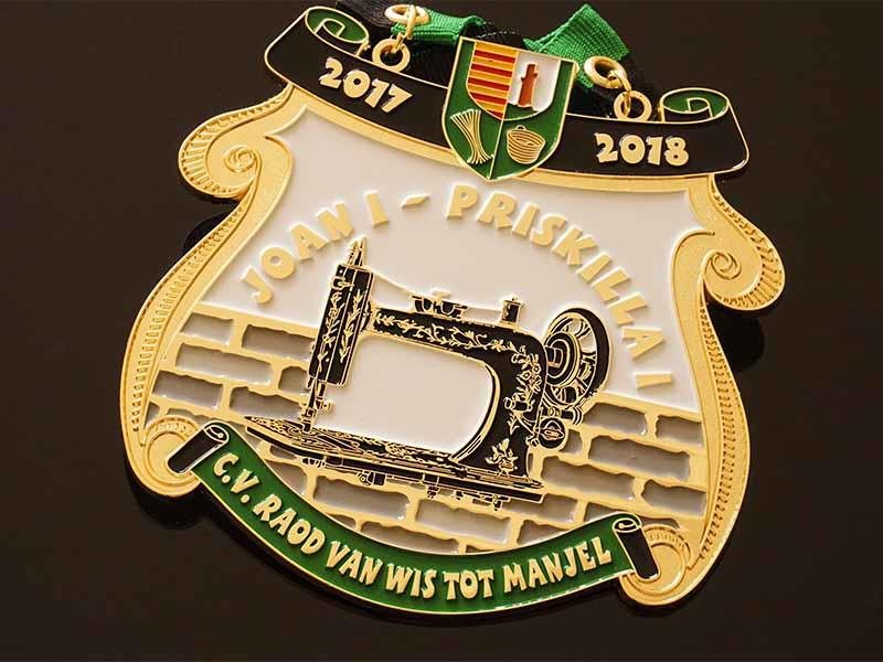 Awards Medal alloy fiesta medal trader for wholesale-3