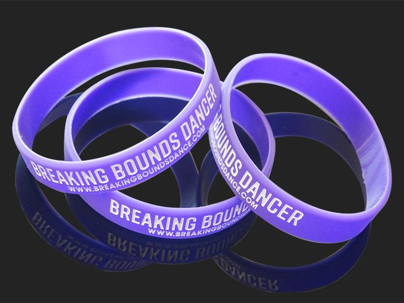 premium quality printed silicone wristbands no export worldwide for event-1