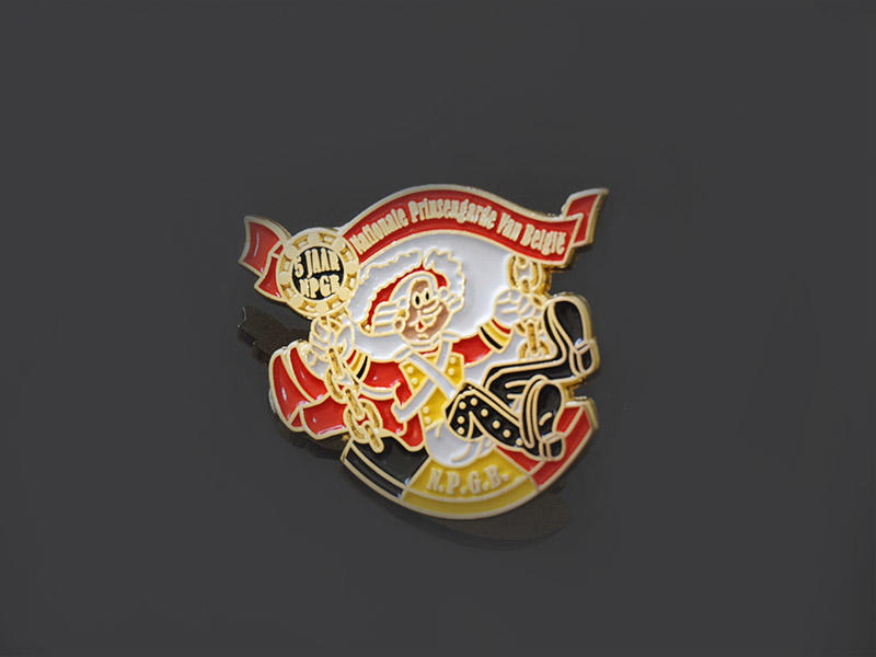 Awards Medal epoxy custom pin badges producer for souvenir-2