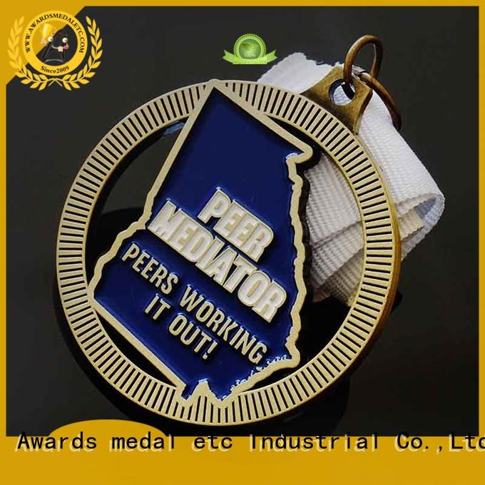 most popular custom made medals out overseas market for souvenir