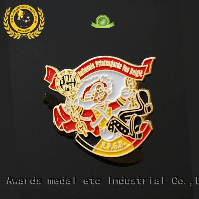 best lapel pin badges medallion producer for garment