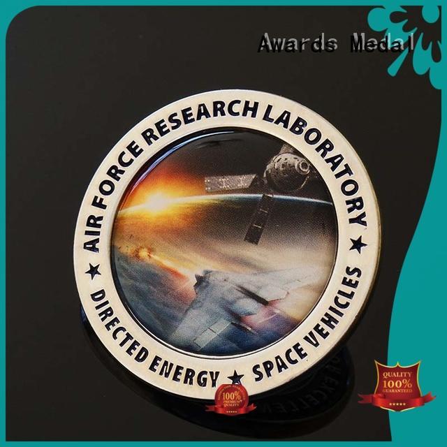 challenge coin no minimum quality logo souvenir Warranty Awards Medal