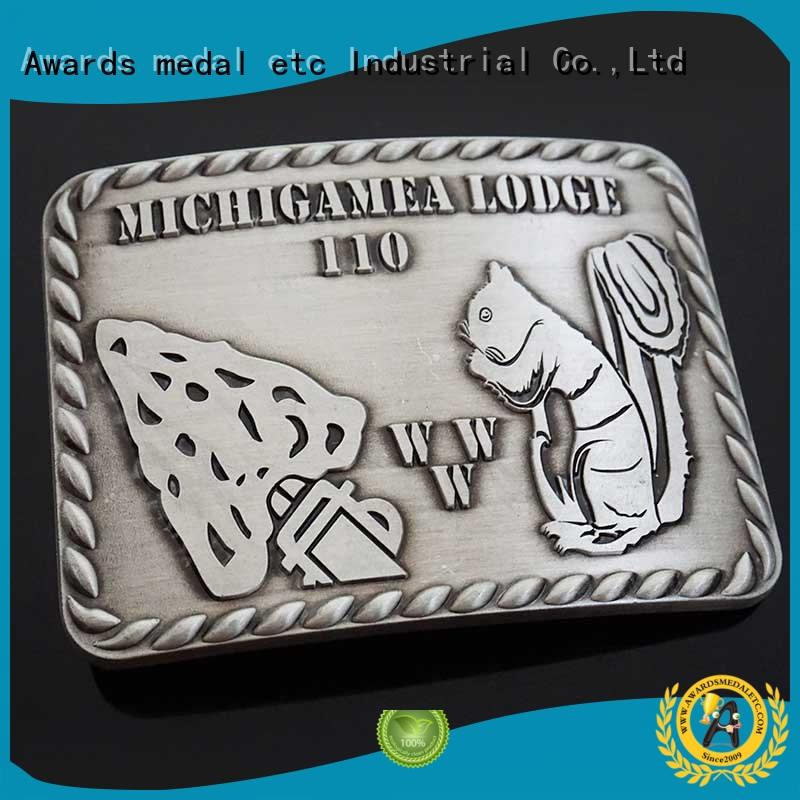 Awards Medal low-cost custom made belt buckles high reliability‎ for mass-market