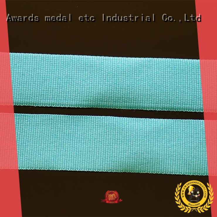 Awards Medal red custom printed lanyards trendy designs for DIY