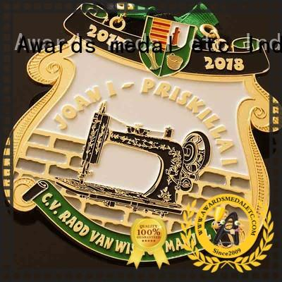 Awards Medal material carnavals medailles design for wholesale