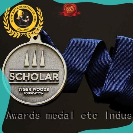 Awards Medal white bespoke medals bulk production for gifts