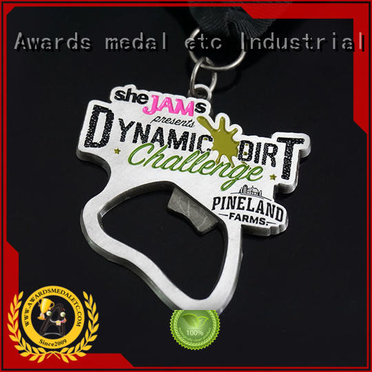 fashion custom bottle openers supplier for events Awards Medal