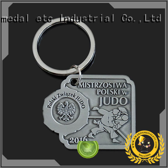 Awards Medal chain metal key chains win-win cooperation for gift