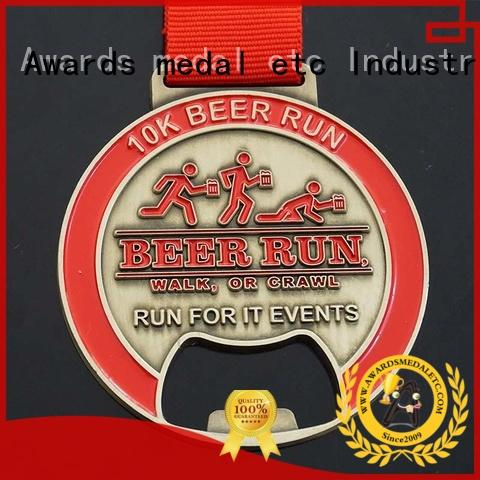 Awards Medal originality metal bottle opener supplier for gifts