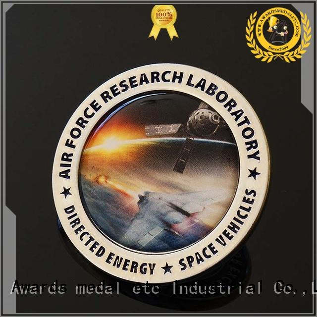 Awards Medal made challenge coin maker supplier for collectible
