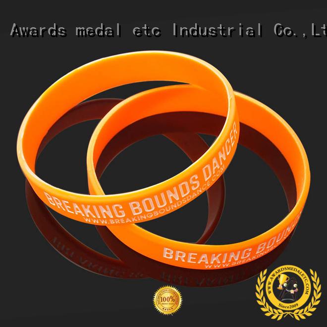 Bulk Cheap Custom Blank Silicone Wrist Bands No Minimum