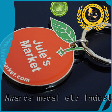 Awards Medal design metal key chains win-win cooperation for promotion