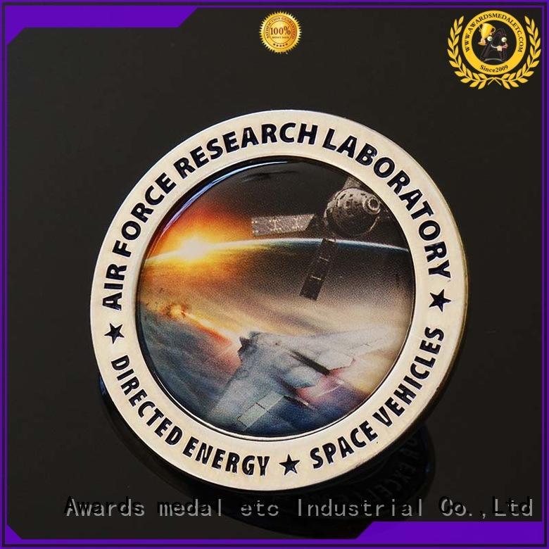 Awards Medal superior performance custom challenge coins high reliability for souvenir