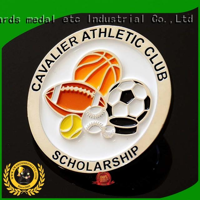 Awards Medal selected material challenge coin maker customized for collectible