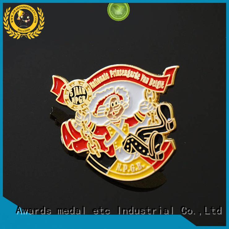 Awards Medal pins custom pin badges overseas trader for souvenir