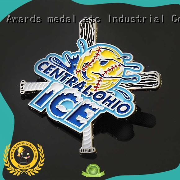 Awards Medal color custom pin badges producer for garment