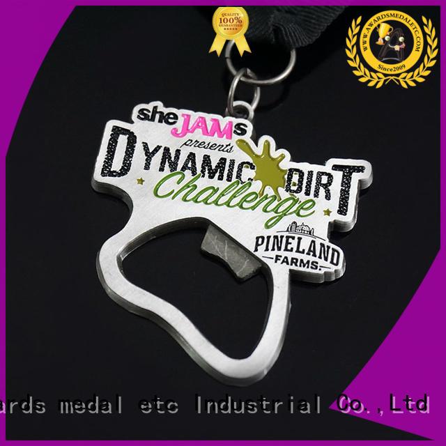 Awards Medal fashion custom beer bottle opener overseas market for gifts