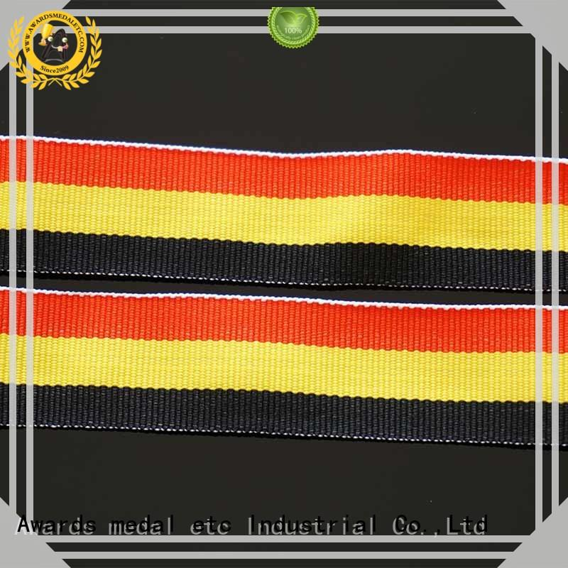 Awards Medal quality assurance ribbon lanyard fast dispatch for DIY