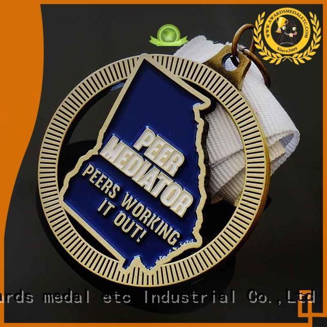 Awards Medal blank custom medallions overseas market for gifts