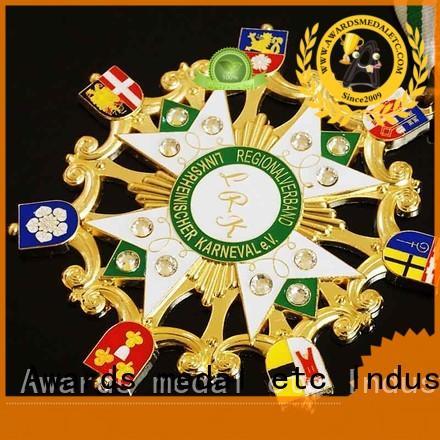 trendy designs fiesta medal german supplier for sale