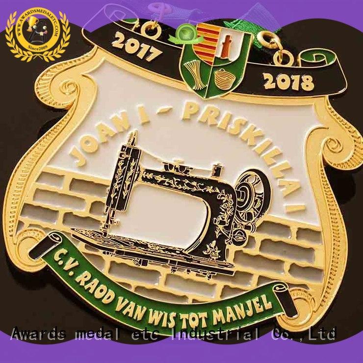 Awards Medal large selection of carnavals medailles supplier for importer