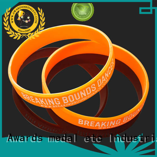 commercial custom silicone bracelets cheapest export worldwide for kids