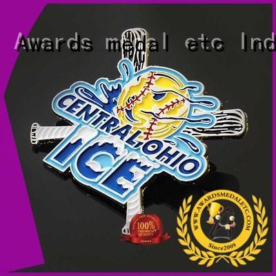 Awards Medal design enamel pin badges overseas trader for souvenir