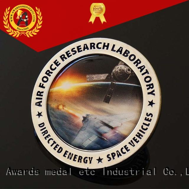 Awards Medal coins custom challenge coins manufacturer for collectible