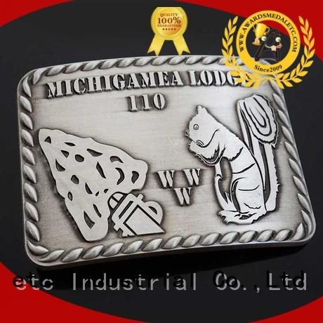 Awards Medal China belt buckle manufacturers high reliability for sale