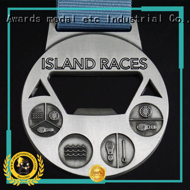 Awards Medal customized beer bottle opener customized for gifts