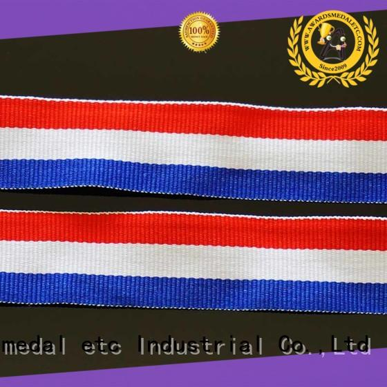 Awards Medal black ribbon lanyard compact packaging for DIY
