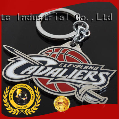 football custom metal keychains wholesale logo for gift Awards Medal