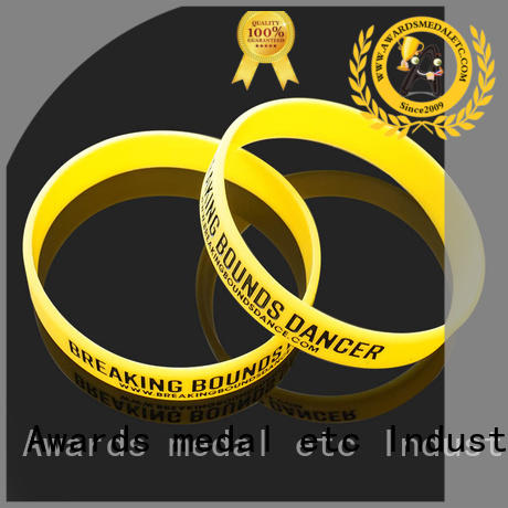 Awards Medal premium quality custom silicone wristbands trader for kids