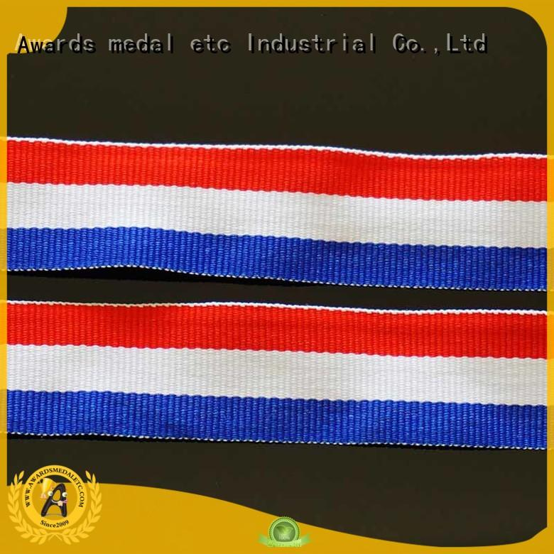 Awards Medal most popular ribbon lanyard trendy designs for sale