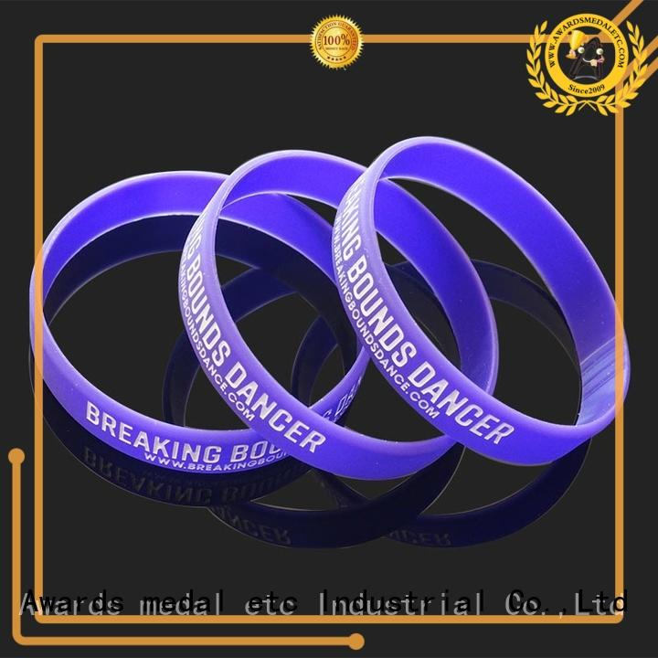 commercial silicone wristbands blank innovative product for sport