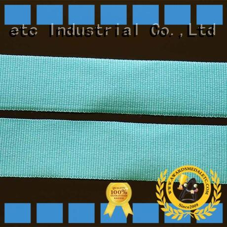 Custom Polyester Neck Woven Light Blue Ribbon Lanyard With Id Card Holder For Sport Event