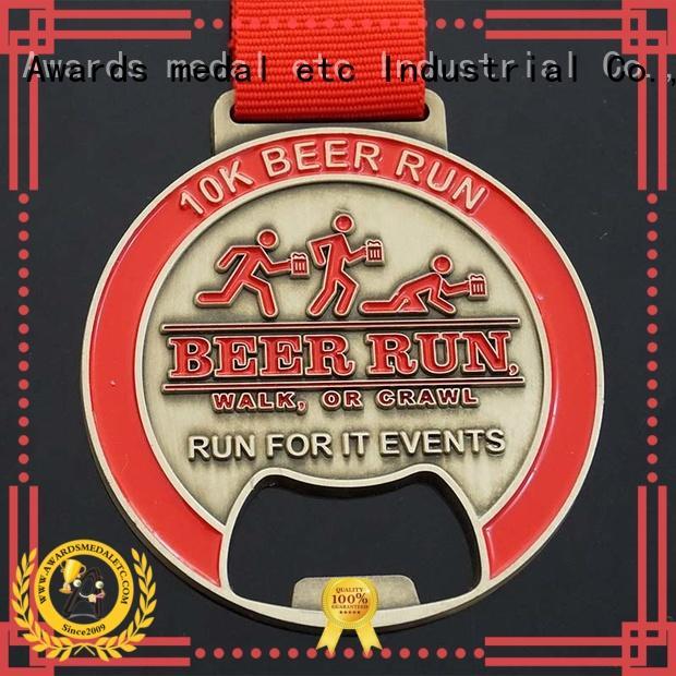 Awards Medal most popular beer bottle opener supplier for events