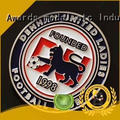 Awards Medal enamel challenge coin maker customized for souvenir