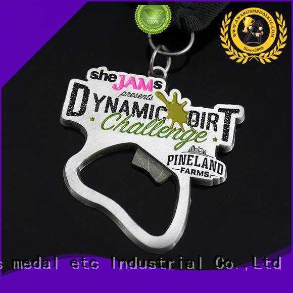 Awards Medal China metal bottle opener customized for souvenir
