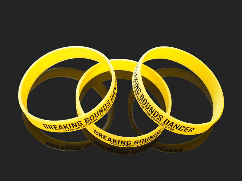 premium quality custom silicone wristbands logo trader for event-1