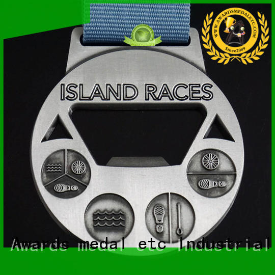Awards Medal most popular custom bottle openers bulk production for souvenir