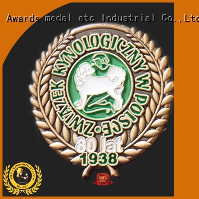 soft enamel pins maker looking for buyer for gift Awards Medal